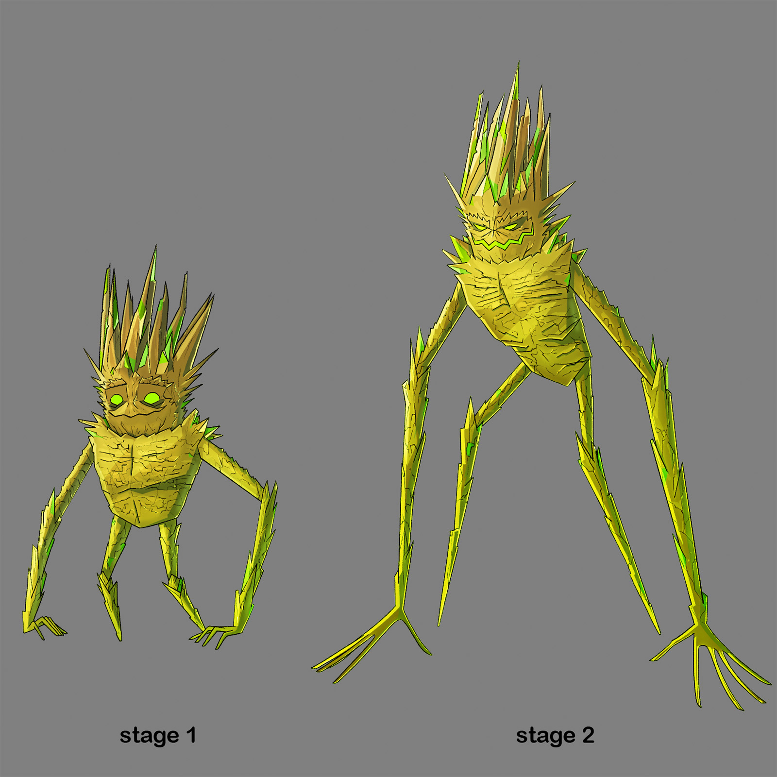 Character Design for Uric Acid