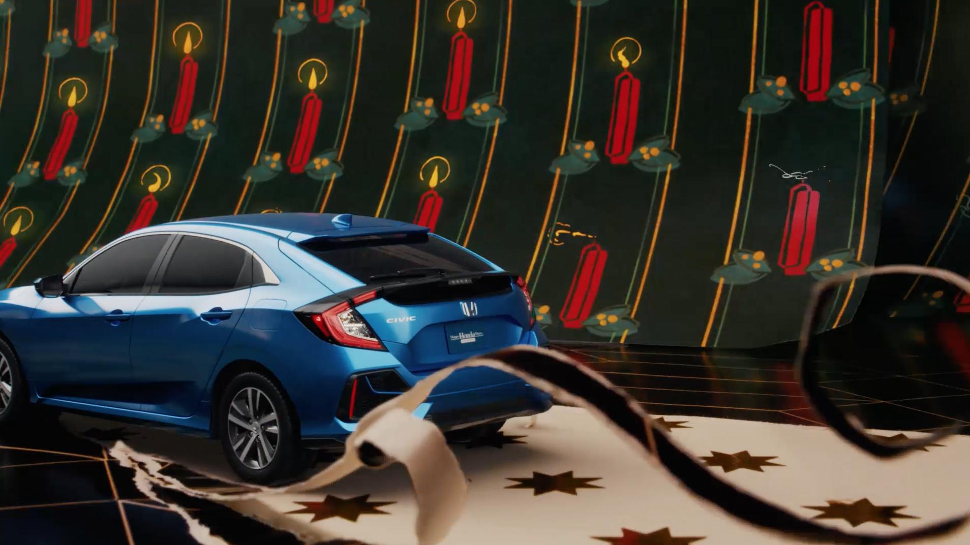 Honda WrappingPaper SUV T03 30 HornetStudio Hornet