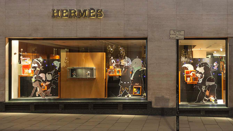 Hermès Installation