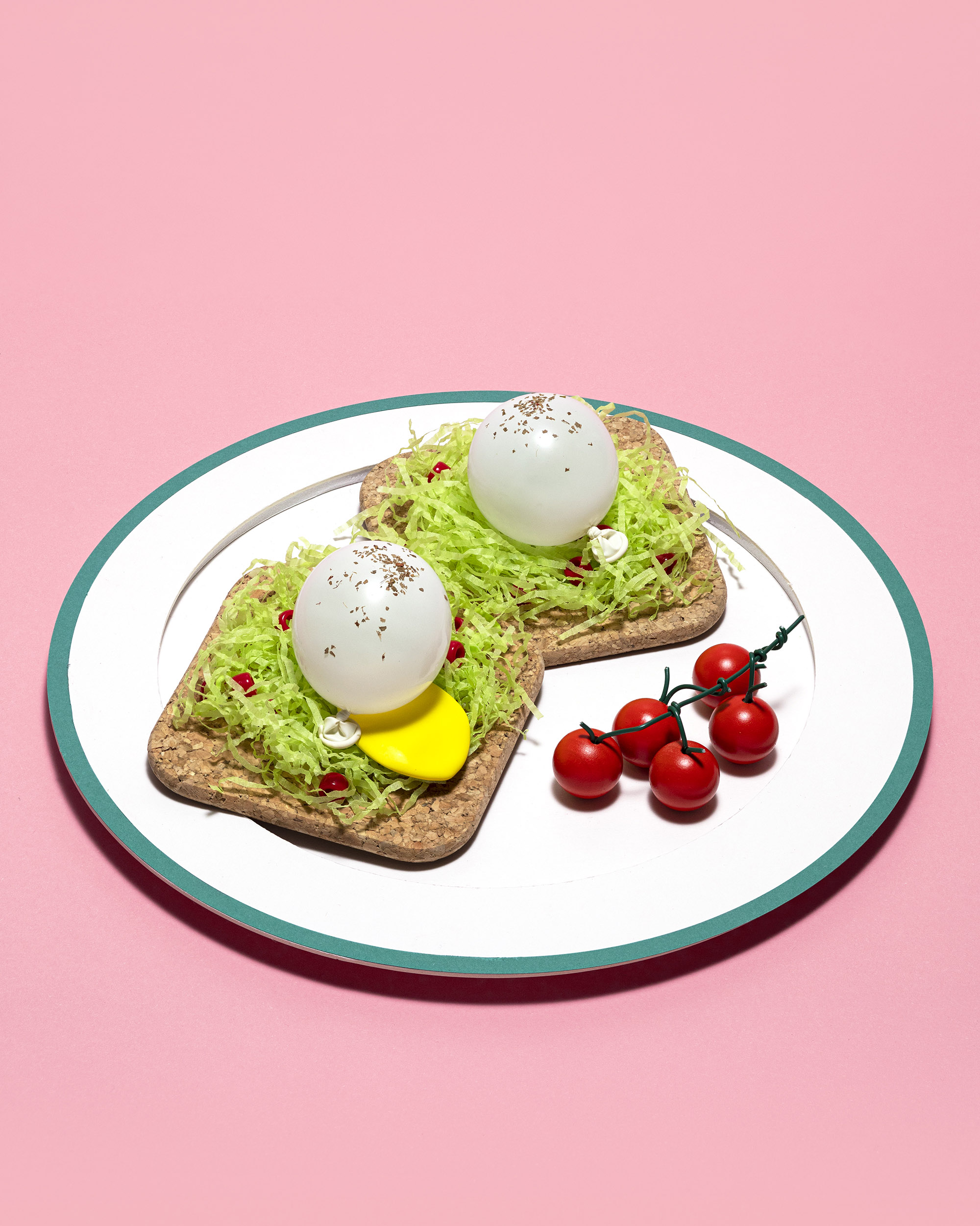 Today's Meal: Smashed Avocado on Toast