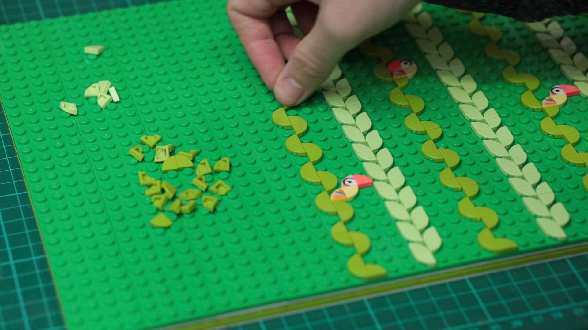 LegoDots BTS10 KyleBean Hornet