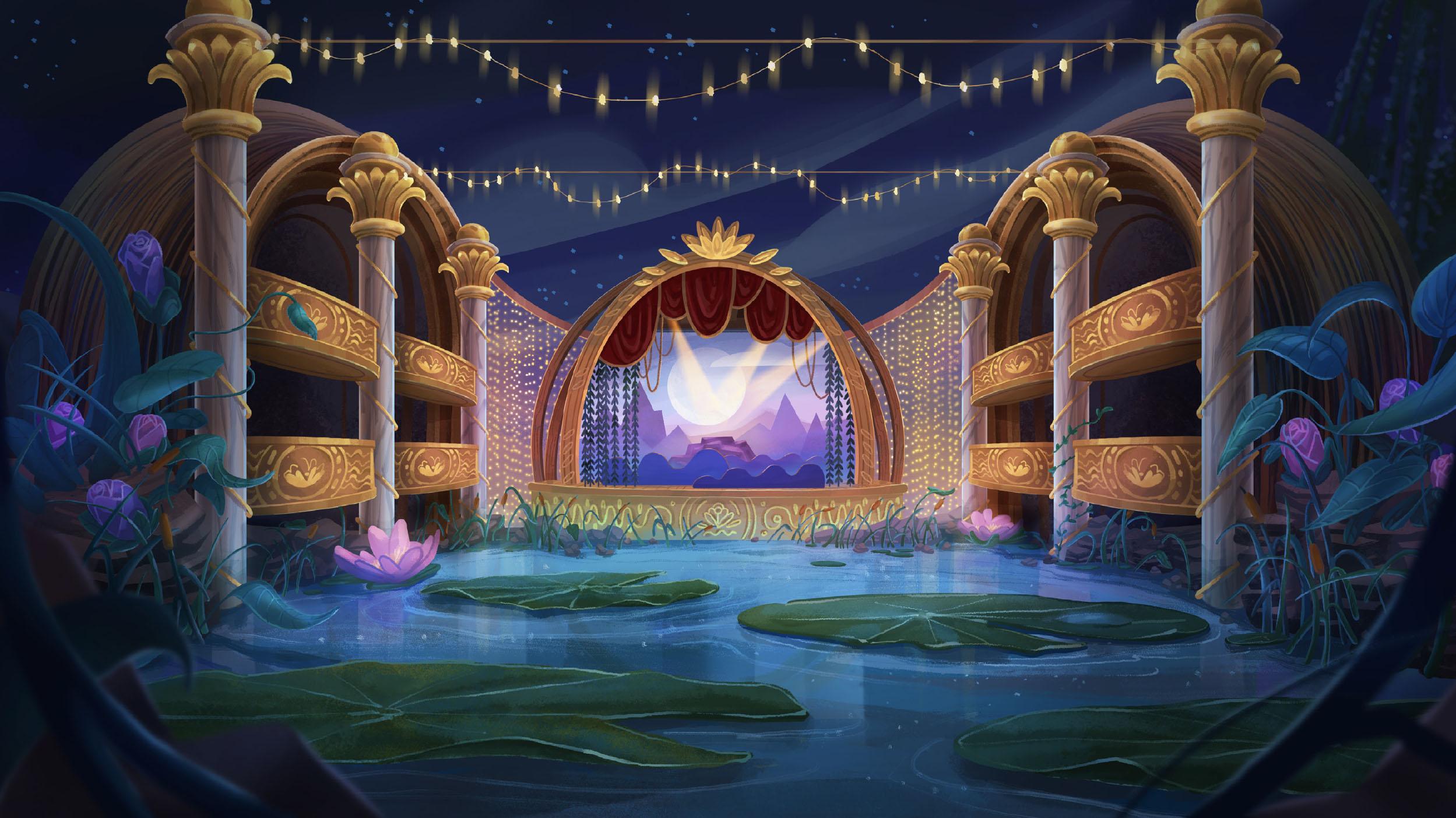 Opera Scene Design