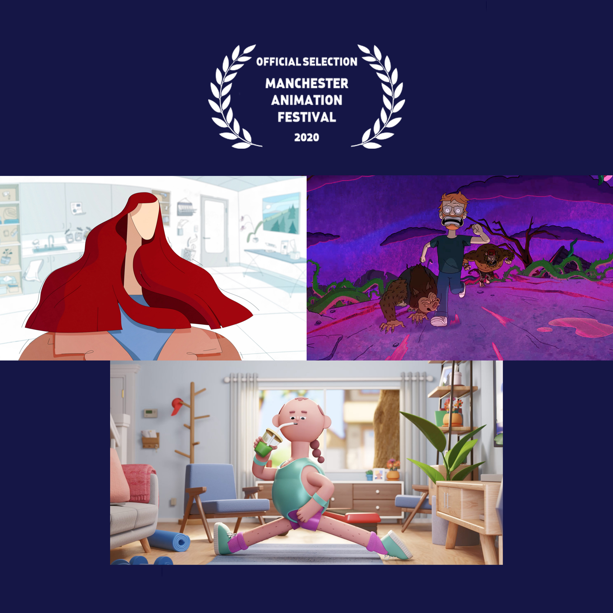 Three Hornet Films Shortlisted at the Manchester Animation Festival