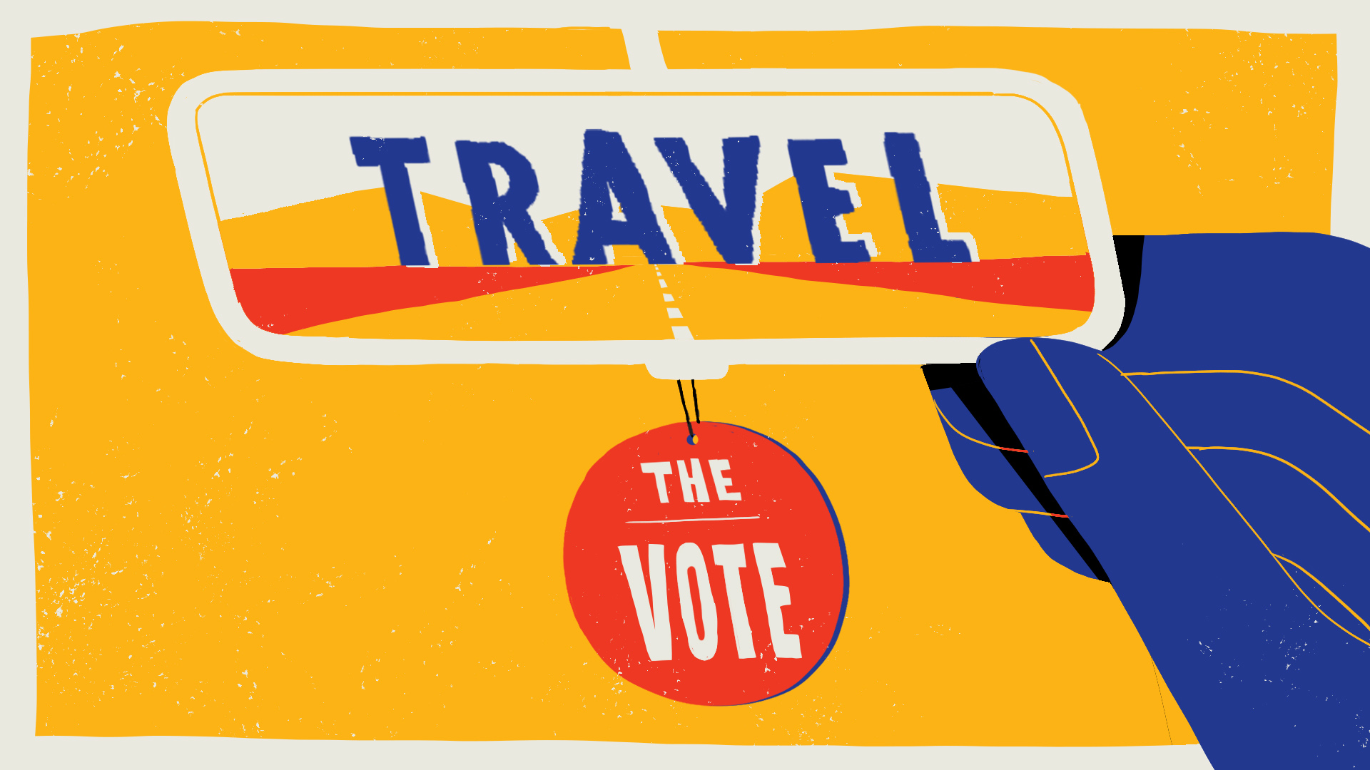 Away Travel the Vote T11 HornetStudio Hornet