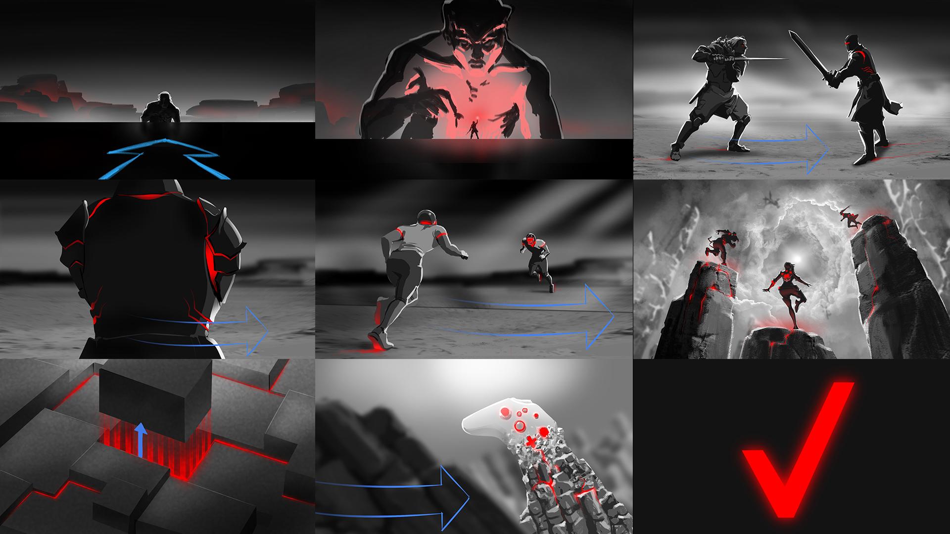 Verizon E3 Storyboards