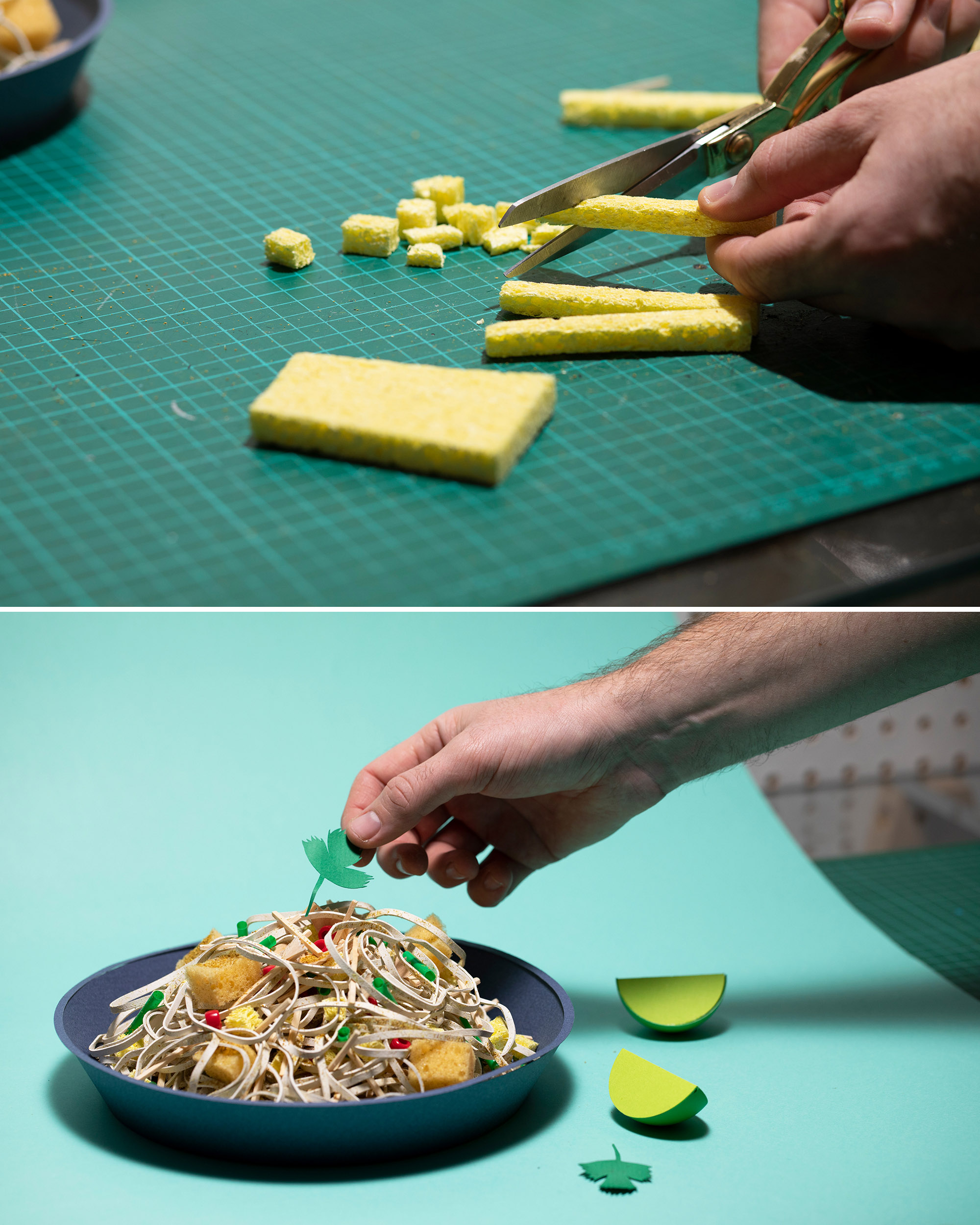 Making of Pad Thai