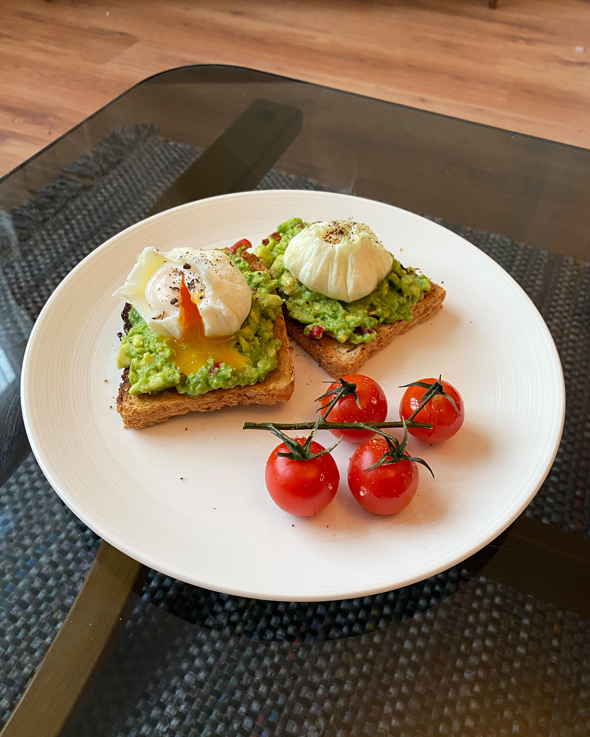 Original Smashed Avocado on Toast