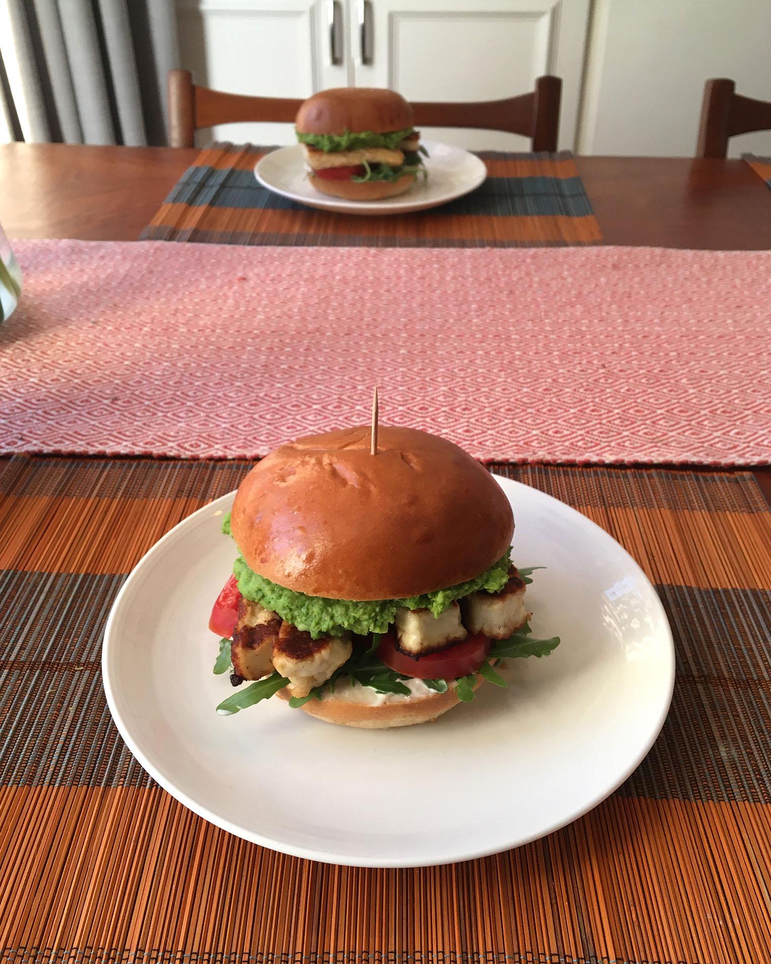 Original Halloumi Burger