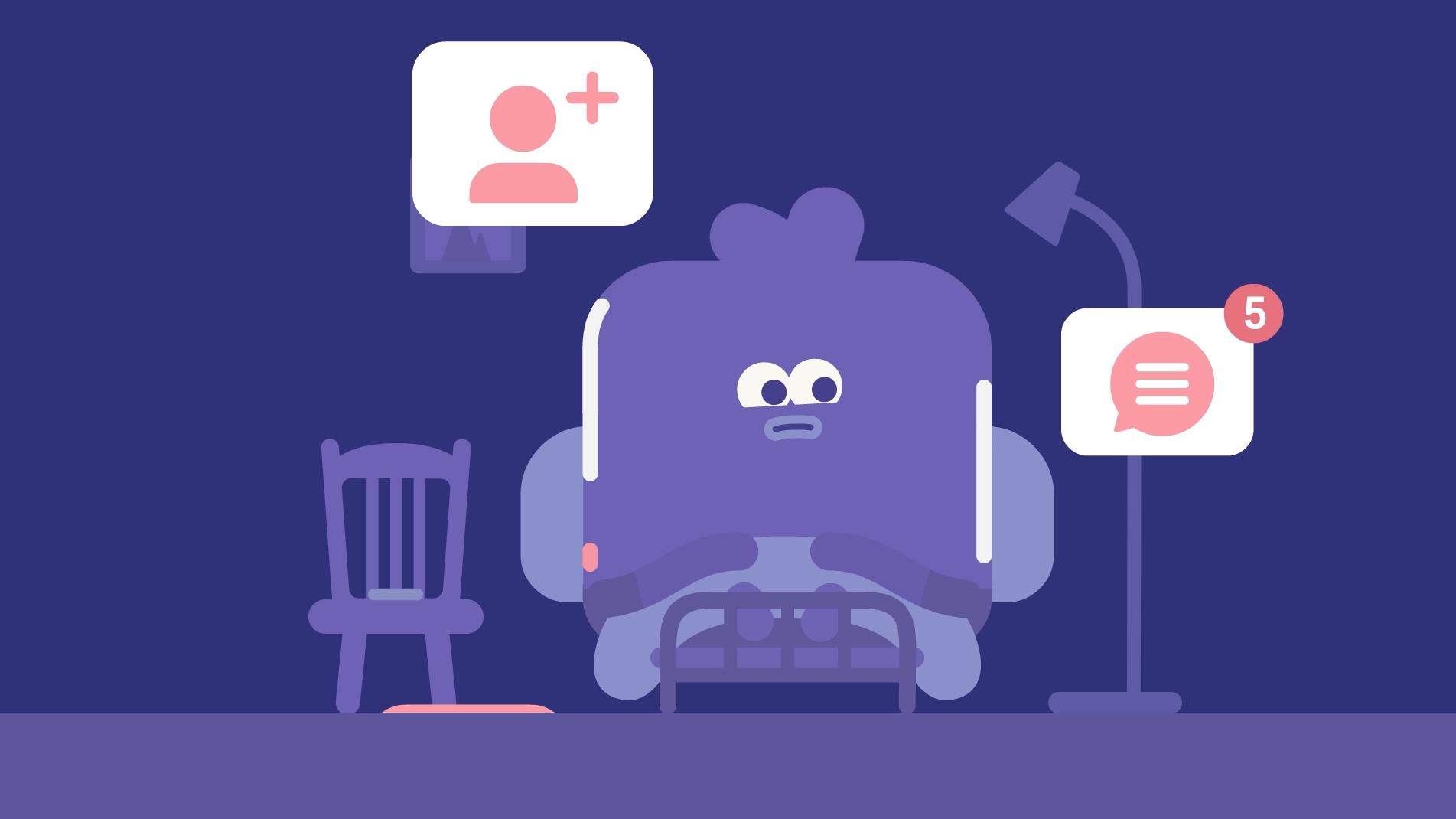 Headspace 2019 T01 SocialMedia Moth Hornet