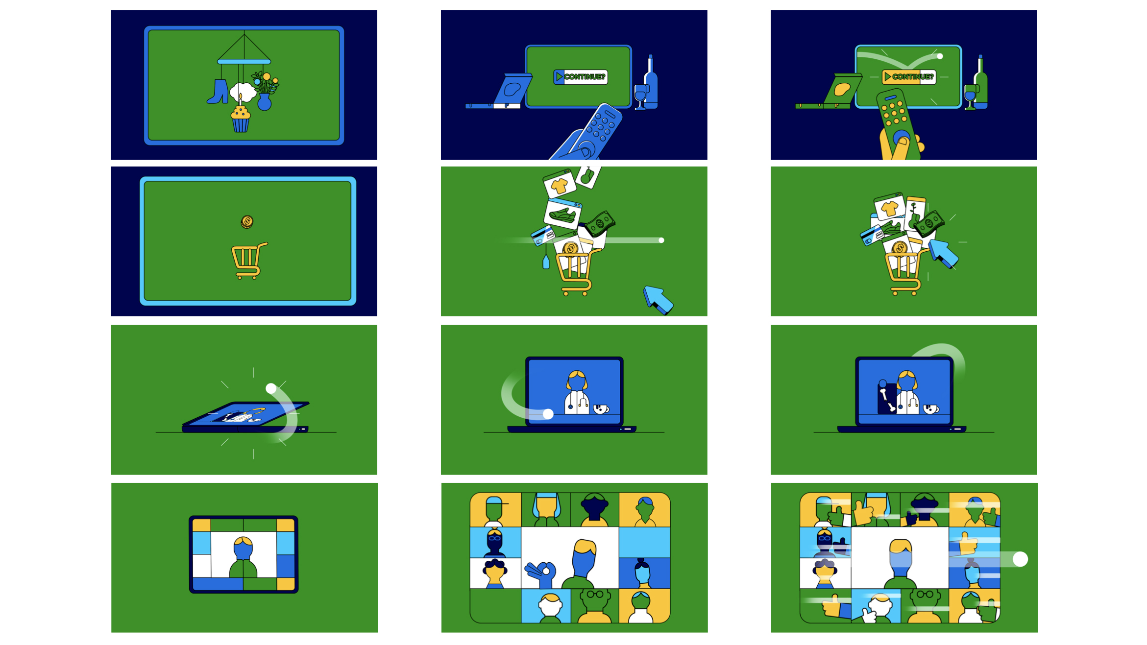Ziply Storyboards