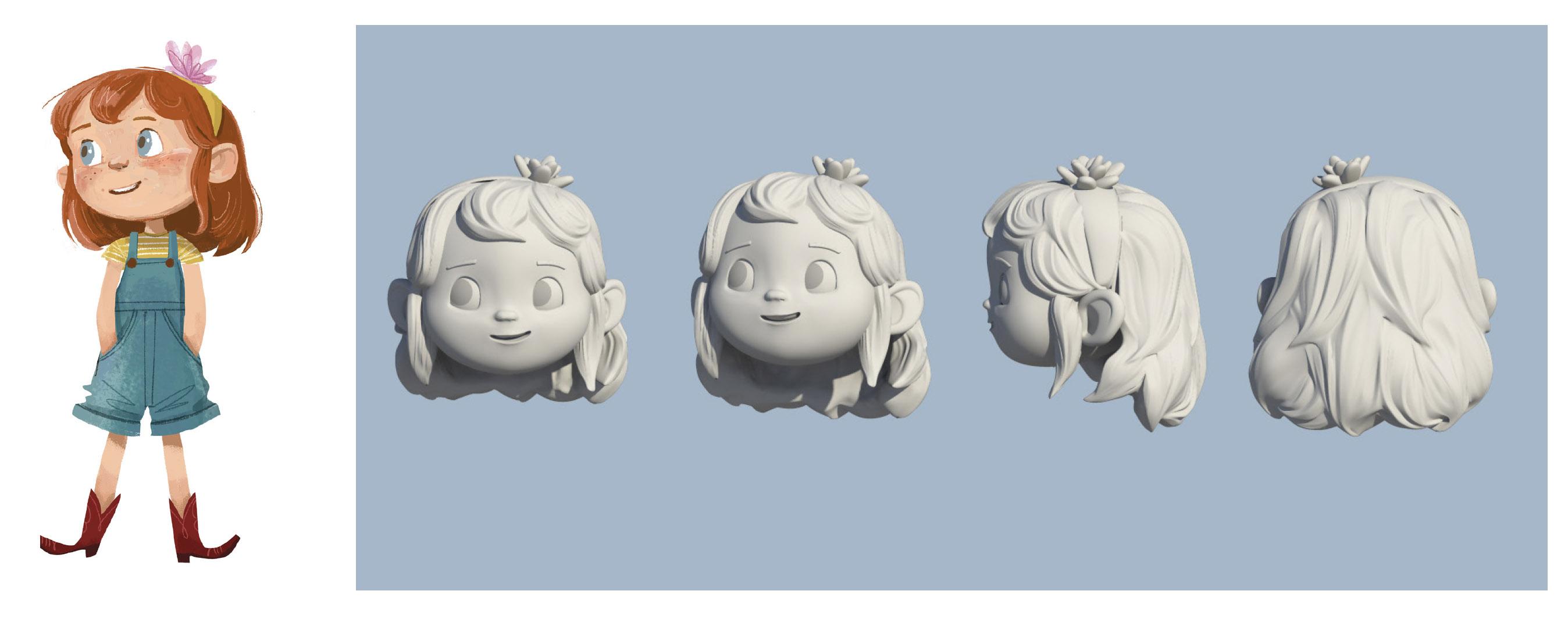 Maxine Character Development