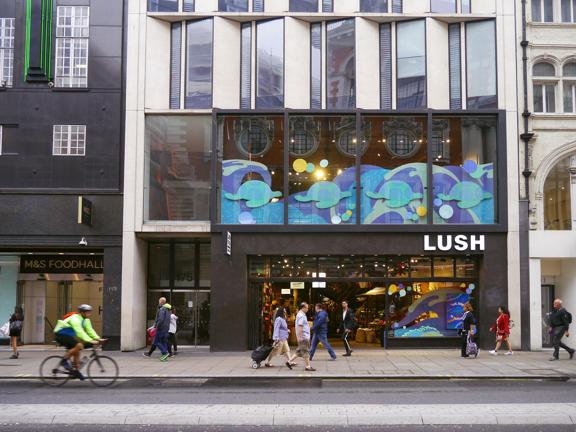 Lush London T01 InStore YukaiDu Hornet