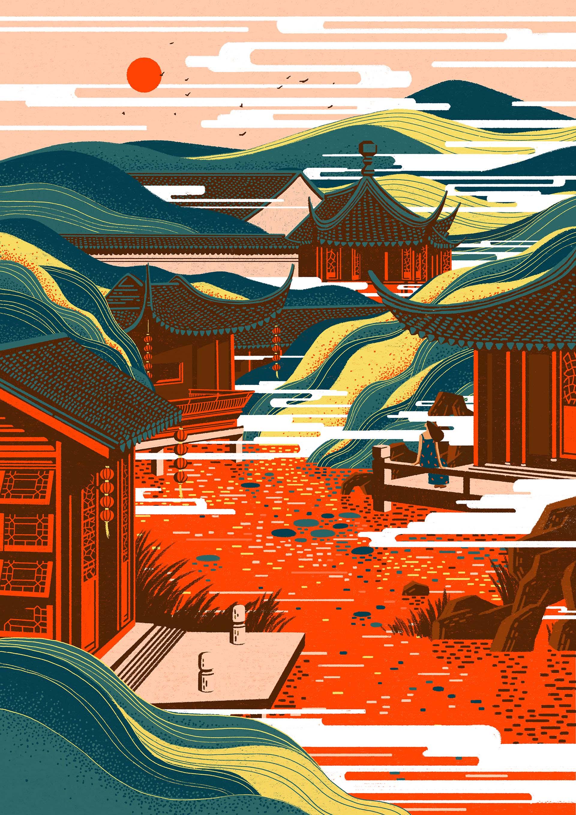 Garden 1920 yuki