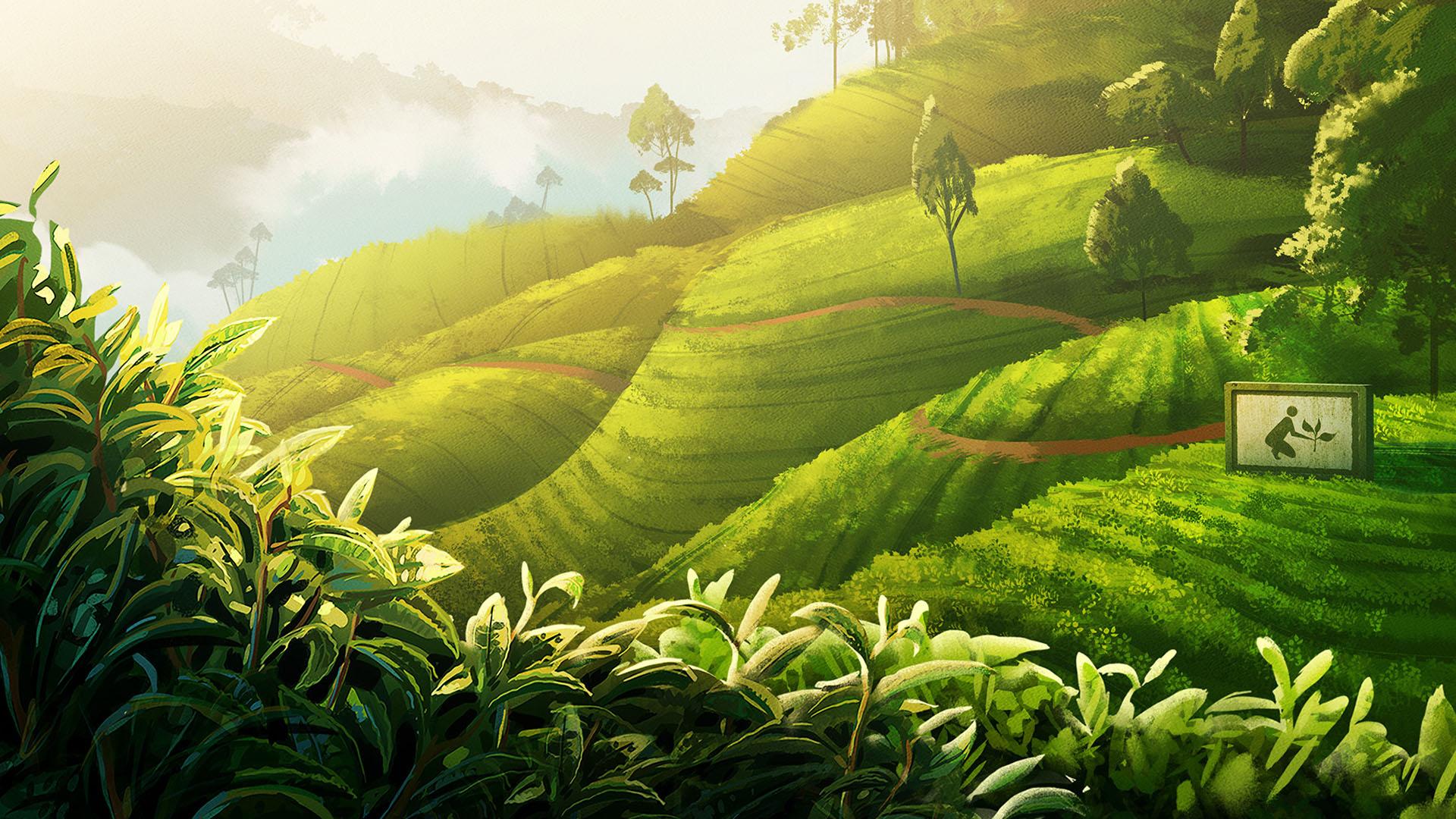 Gogo Tea: Backgrounds