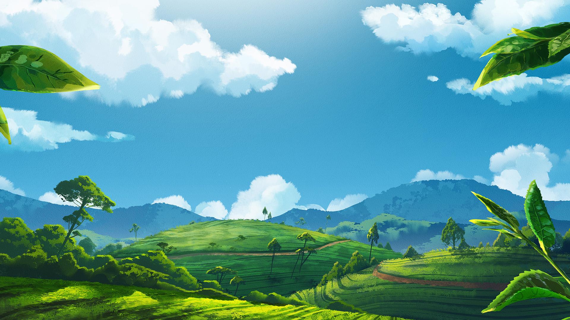 Gogo Tea: Landscape