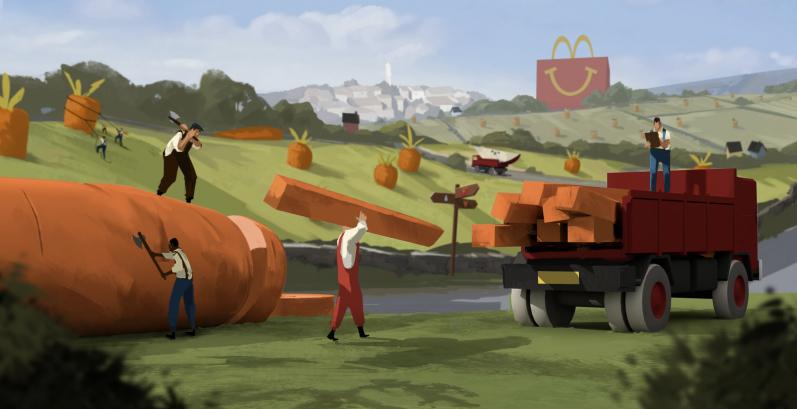 McDonalds AlwaysWorking T02 YvesGeleyn Hornet